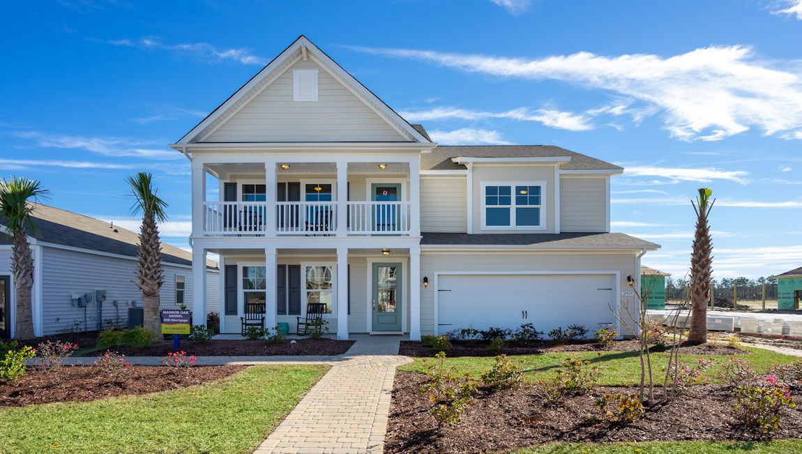 Exterior featured in the HARBOR OAK By D.R. Horton in Myrtle Beach, SC