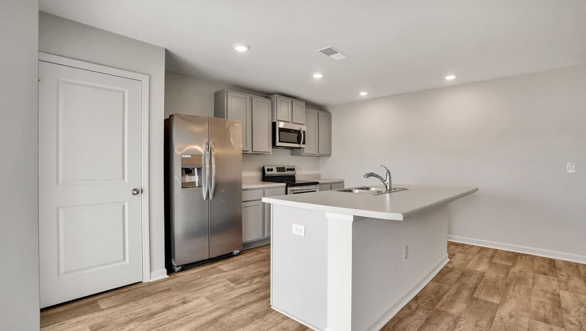 Kitchen featured in the Kerry By D.R. Horton in Wilmington, NC