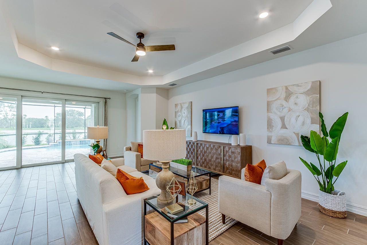 Living Area featured in the Barrymore - D.R. Horton By D.R. Horton in Fort Myers, FL