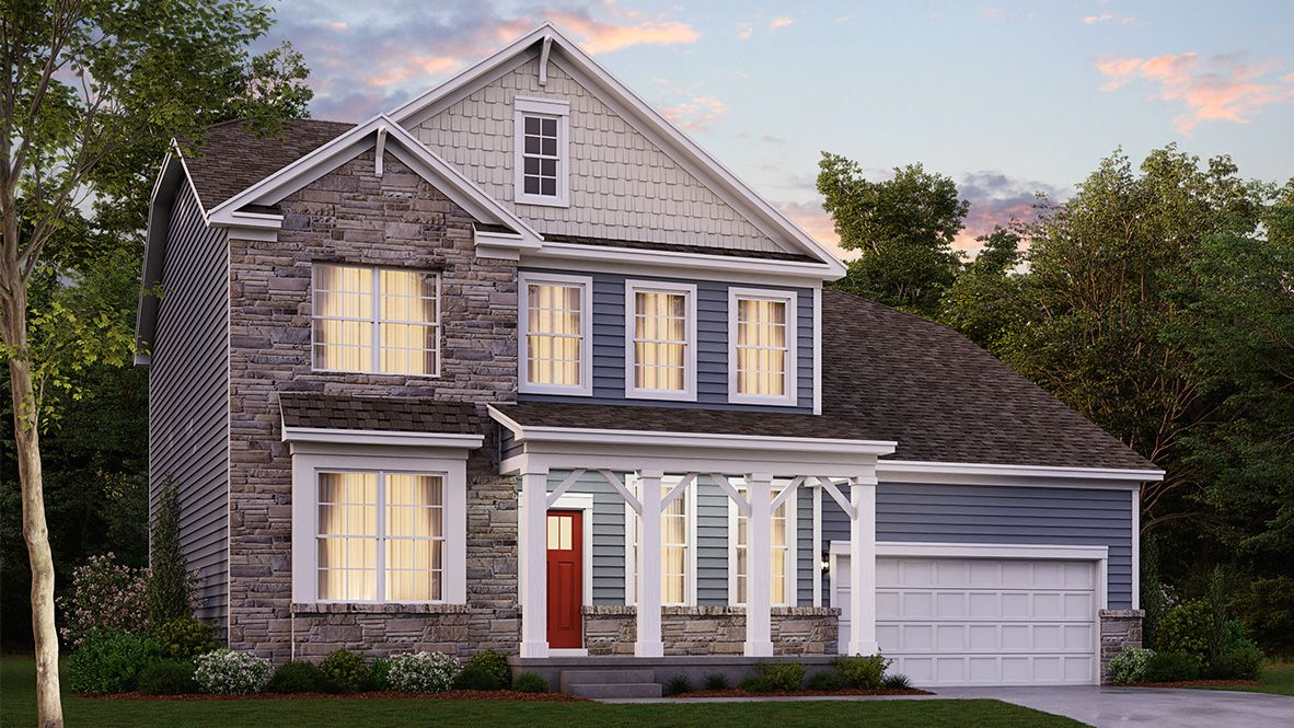 Exterior featured in the CONCORD By D.R. Horton in Baltimore, MD