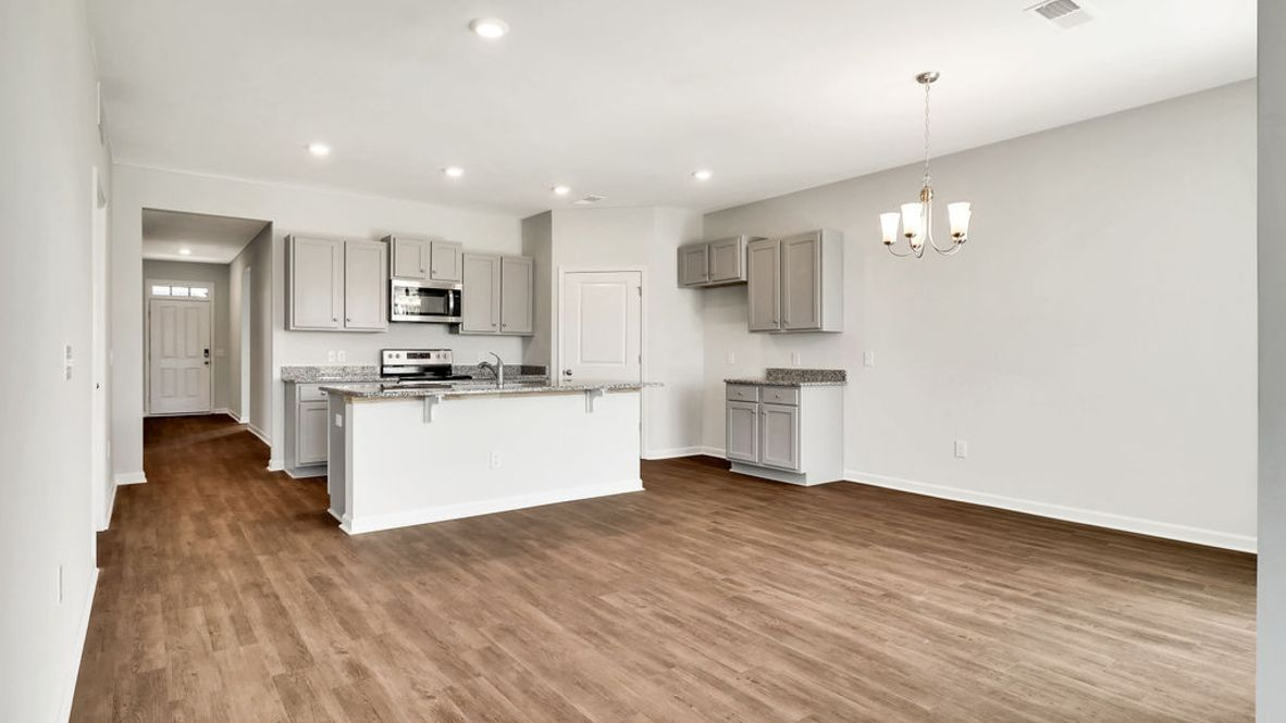 Kitchen featured in the DOVER-EXP By D.R. Horton in Wilmington, NC