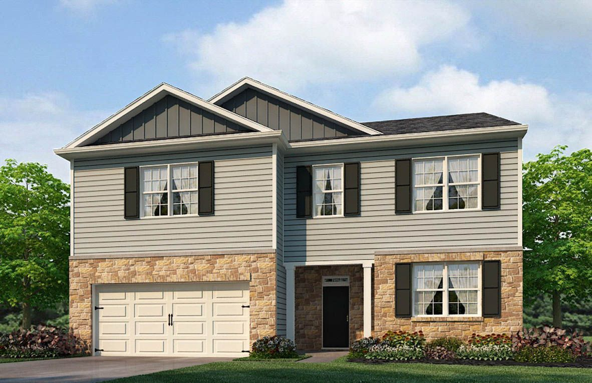 Exterior featured in the Green By D.R. Horton in Richmond-Petersburg, VA