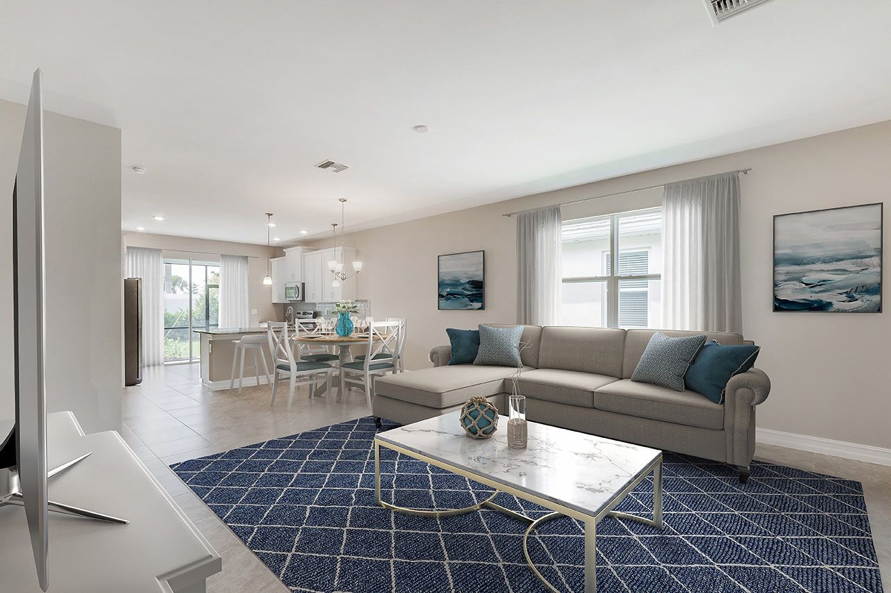 Living Area featured in the Brighton By D.R. Horton in Fort Myers, FL