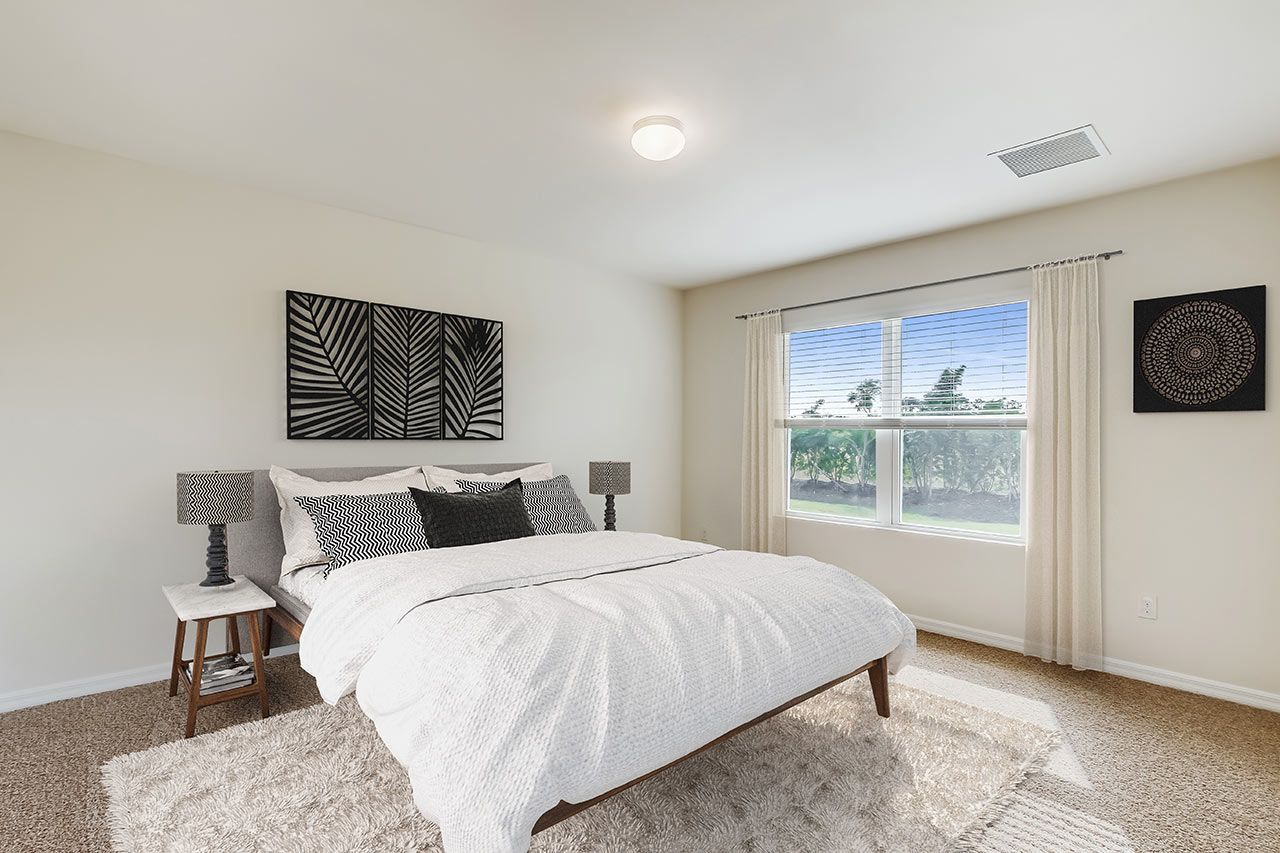 Bedroom featured in the Aria - Express Homes By D.R. Horton in Fort Myers, FL