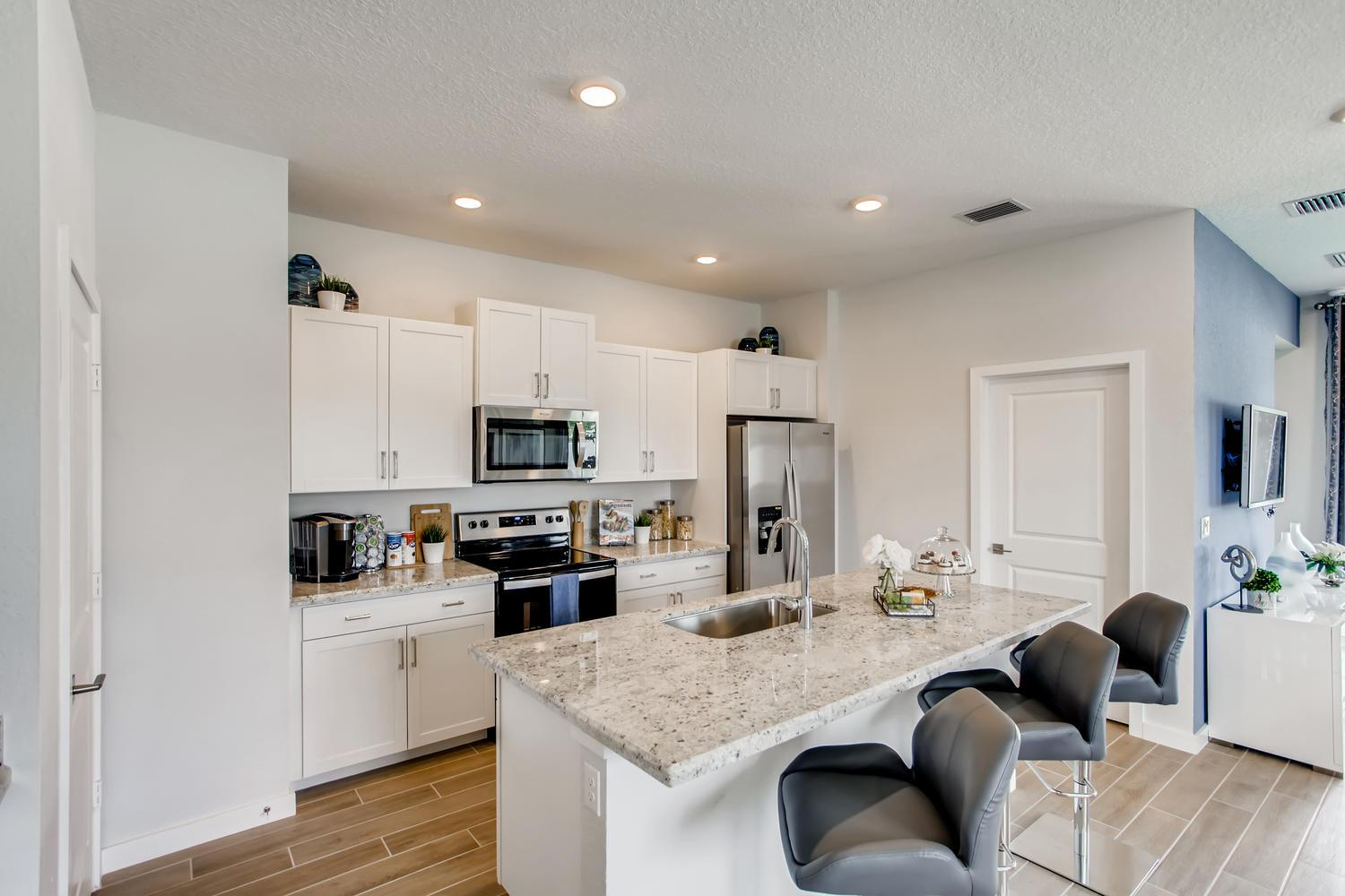 Kitchen featured in the Merritt By D.R. Horton in Palm Beach County, FL