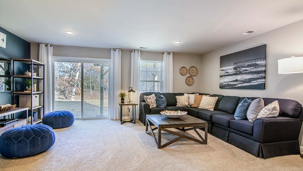 Living Area featured in the Nash By D.R. Horton in Ocean County, NJ