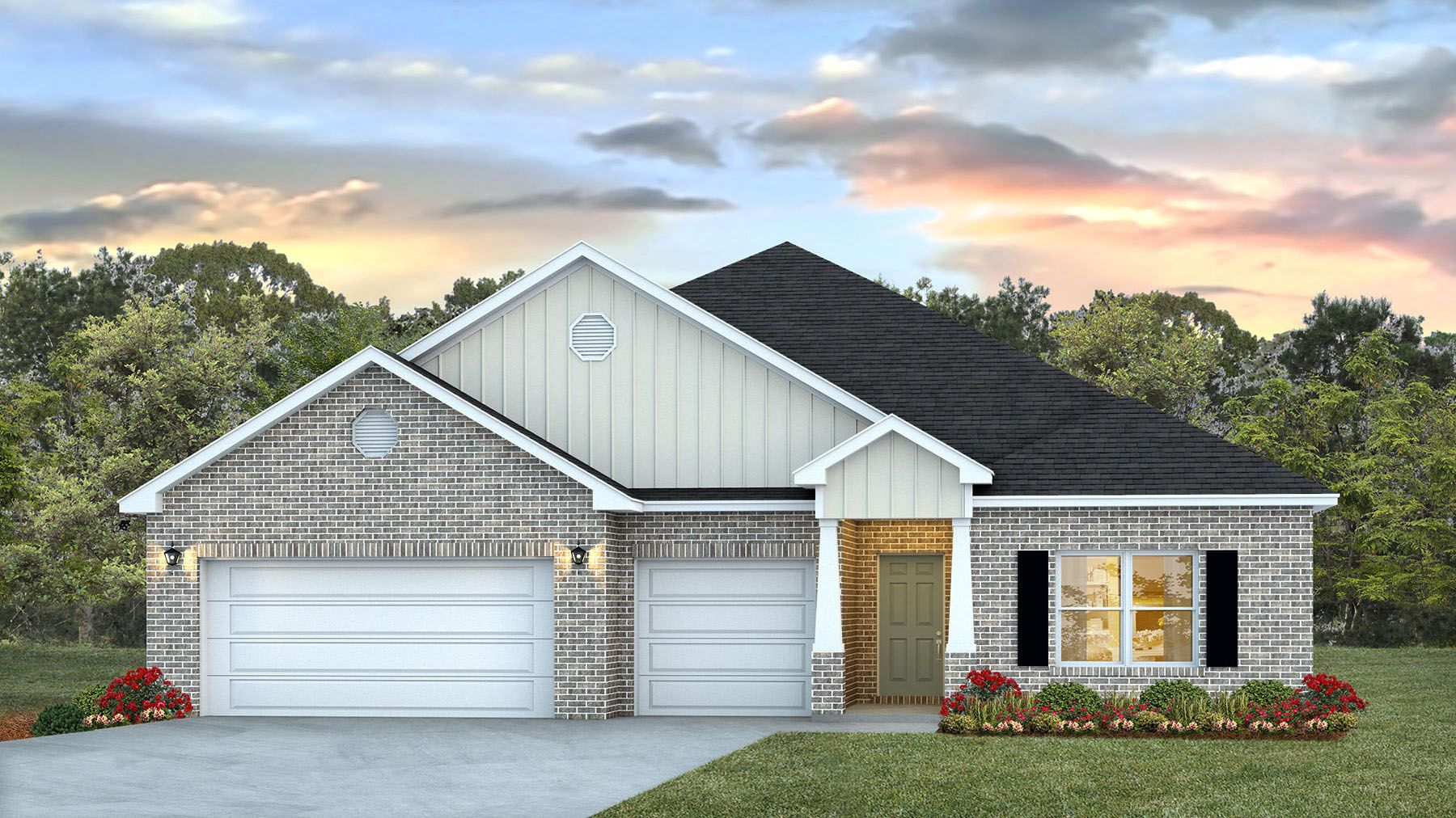 Exterior featured in The Camden By D.R. Horton in Mobile, AL