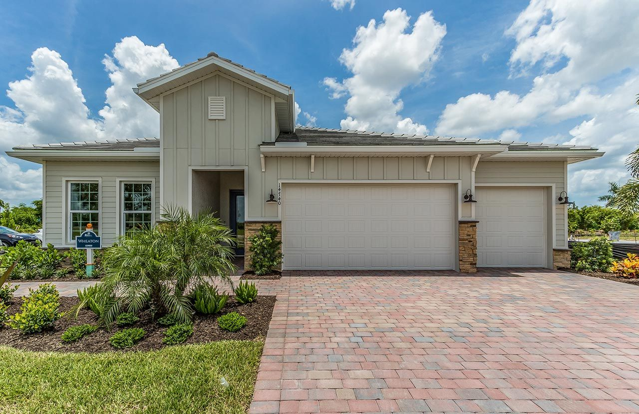 Exterior featured in the Wheaton By D.R. Horton in Naples, FL