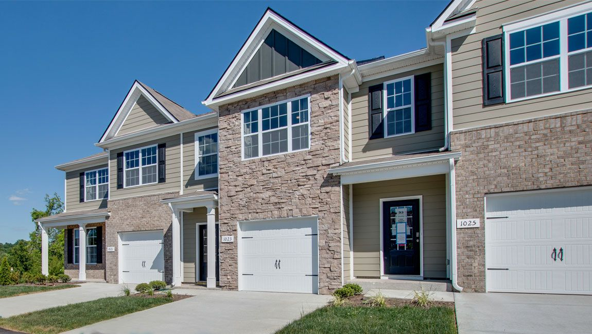 Exterior featured in the MEDFORDE II By D.R. Horton in Nashville, TN
