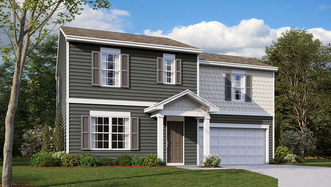 Exterior featured in the Fairton By D.R. Horton in Cumberland County, NJ