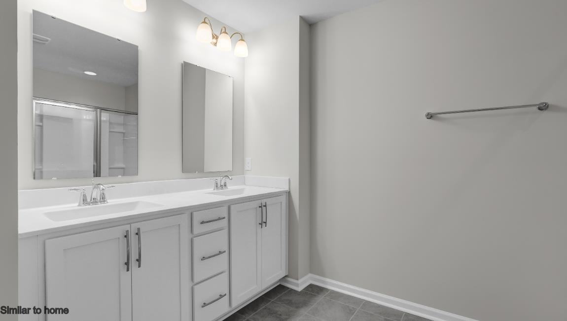 Bathroom featured in the WOODSTOCK By D.R. Horton in Jacksonville, NC