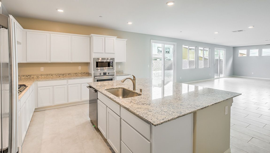 Kitchen featured in the 4125 Plan By D.R. Horton in Las Vegas, NV
