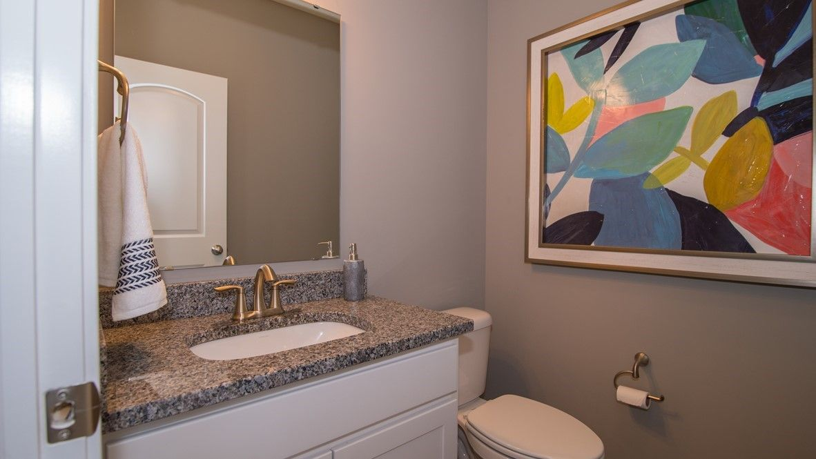 Bathroom featured in the Denali By D.R. Horton in Indianapolis, IN