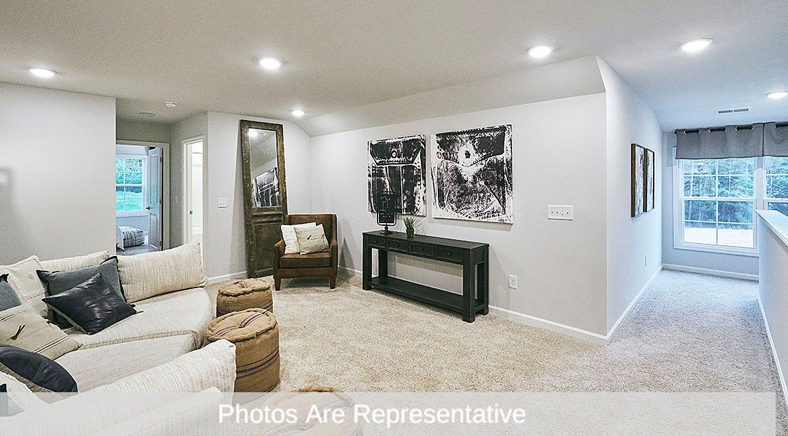 Living Area featured in the Clifton By D.R. Horton in Greensboro-Winston-Salem-High Point, NC