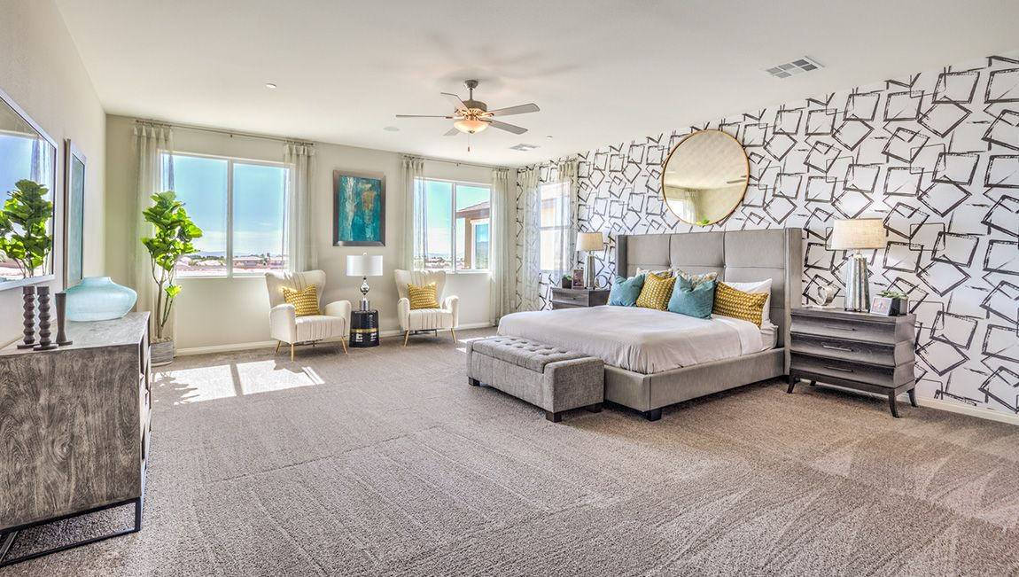 Bedroom featured in the 3825 PLAN By D.R. Horton in Las Vegas, NV