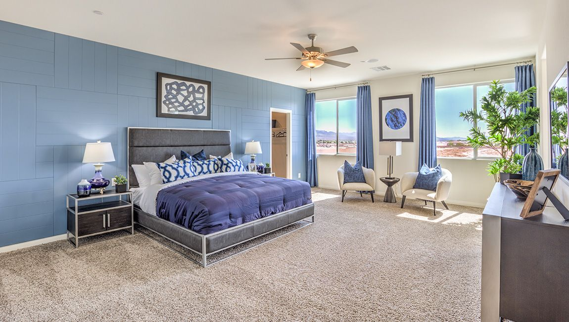 Bedroom featured in the 4425 Plan By D.R. Horton in Las Vegas, NV