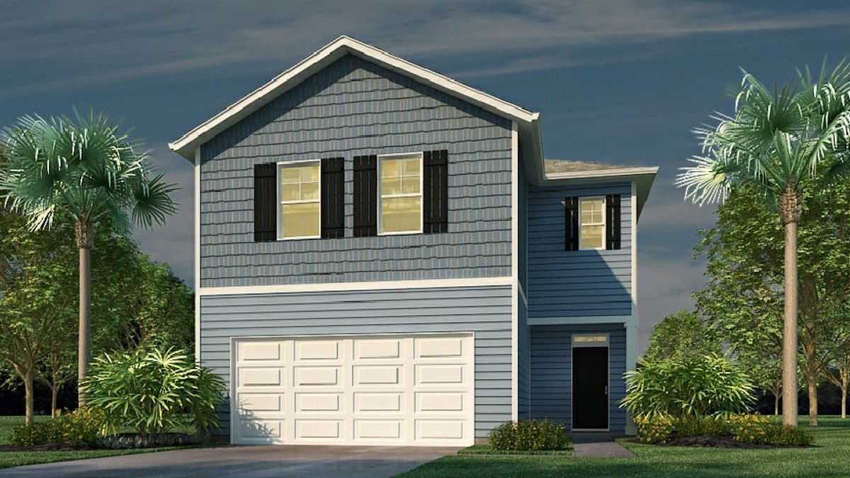 Exterior featured in the Elston By D.R. Horton in Charleston, SC