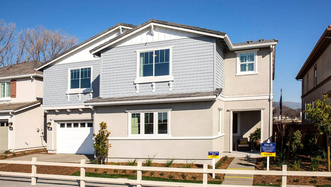 Exterior featured in the Residence 2 By D.R. Horton in Oakland-Alameda, CA