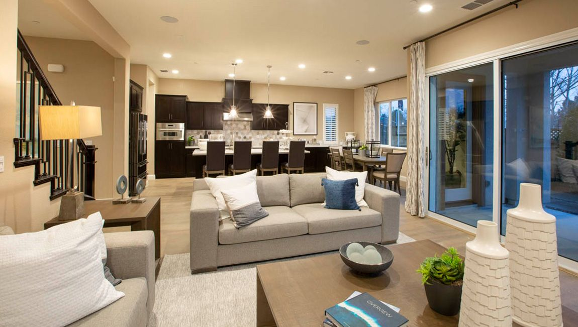 Living Area featured in the Residence 3 By D.R. Horton in Oakland-Alameda, CA