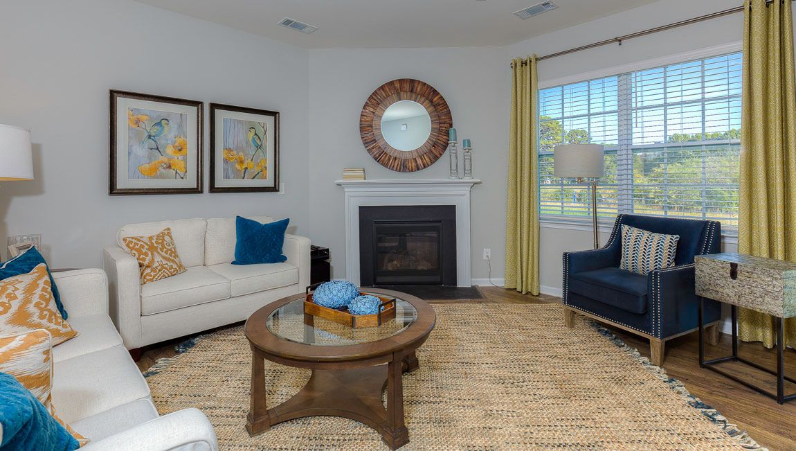 Living Area featured in the Charleston By D.R. Horton in Jacksonville, NC