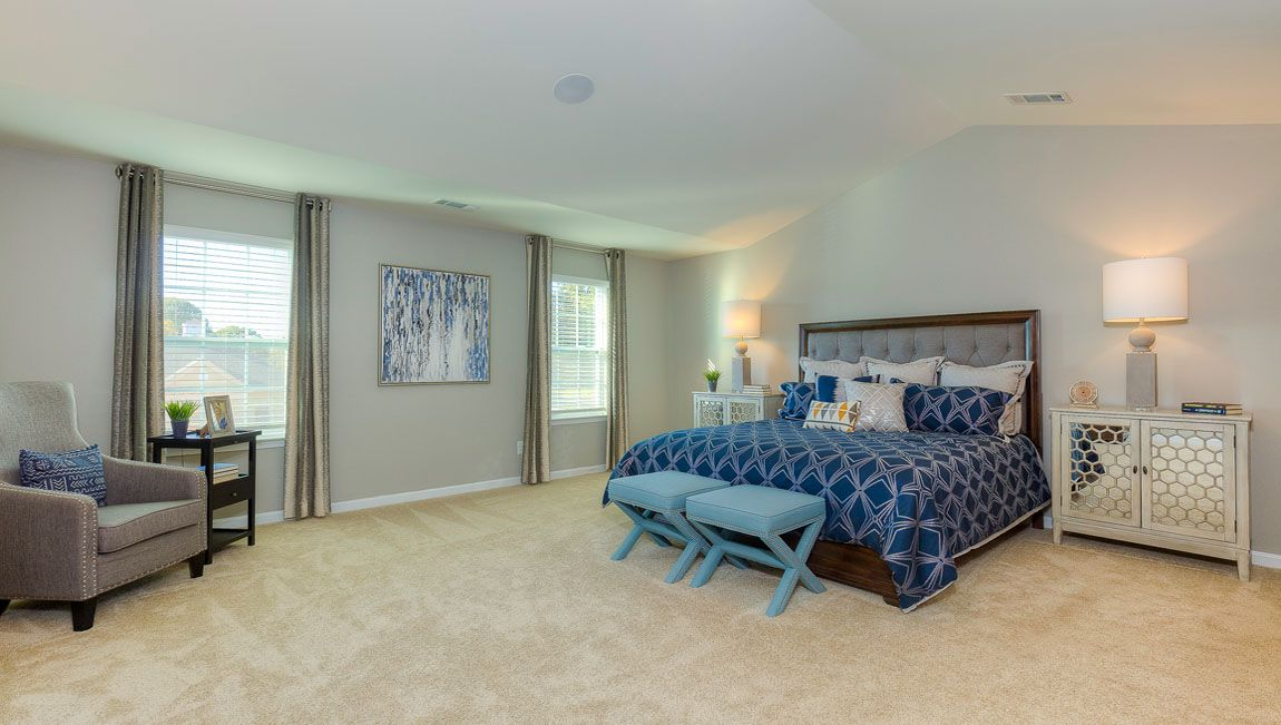 Bedroom featured in the Charleston By D.R. Horton in Jacksonville, NC