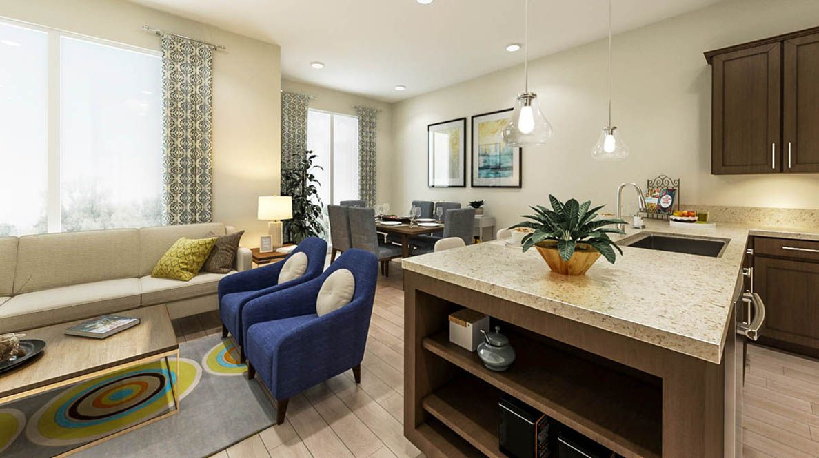 Living Area featured in the Residence B By D.R. Horton in San Francisco, CA