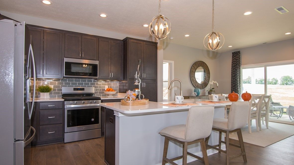 Kitchen featured in the West Haven By D.R. Horton in Indianapolis, IN