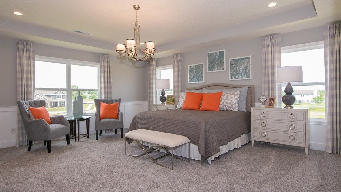 Bedroom featured in the West Haven By D.R. Horton in Indianapolis, IN