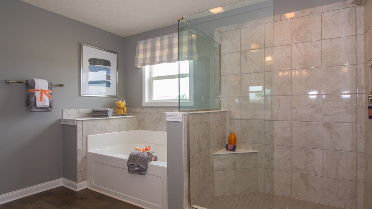 Bathroom featured in the West Haven By D.R. Horton in Indianapolis, IN