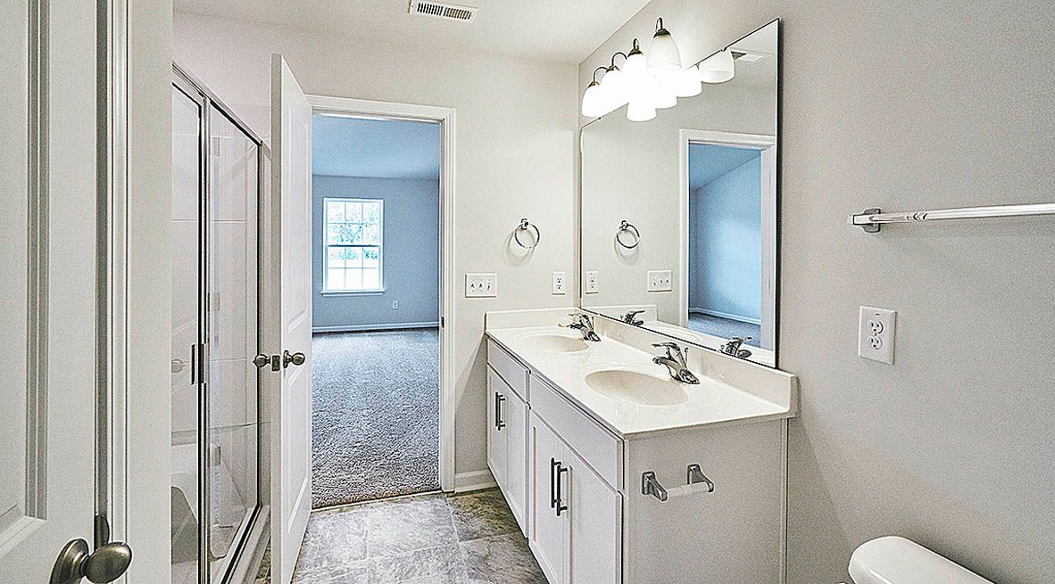 Bathroom featured in the Pinehurst By D.R. Horton in Jacksonville, NC