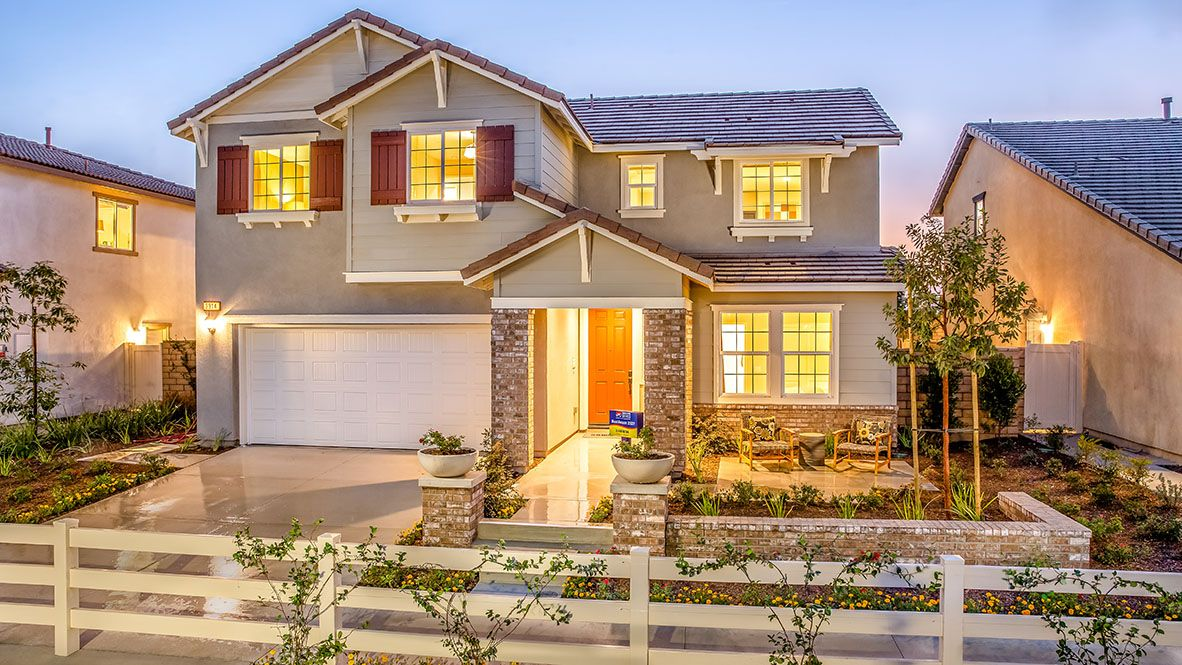 Exterior featured in the Juniper 2537 By D.R. Horton in Riverside-San Bernardino, CA