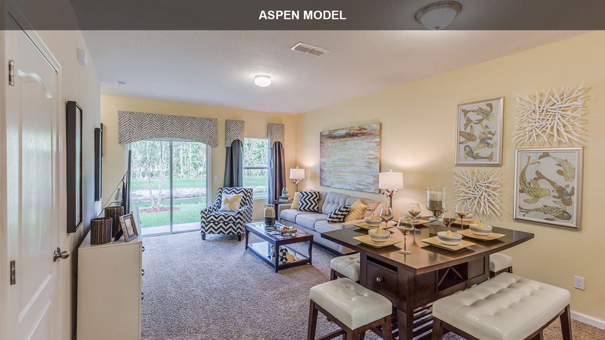 Living Area featured in the ASPEN By D.R. Horton in Jacksonville-St. Augustine, FL