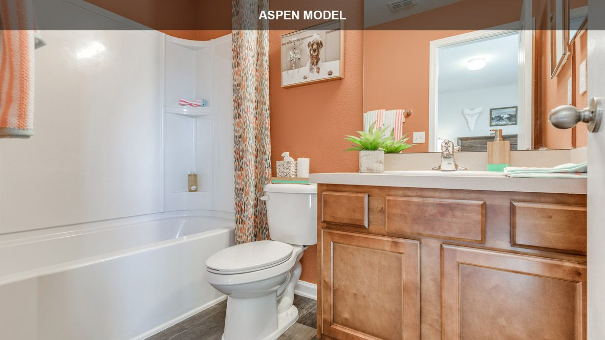 Bathroom featured in the ASPEN By D.R. Horton in Jacksonville-St. Augustine, FL