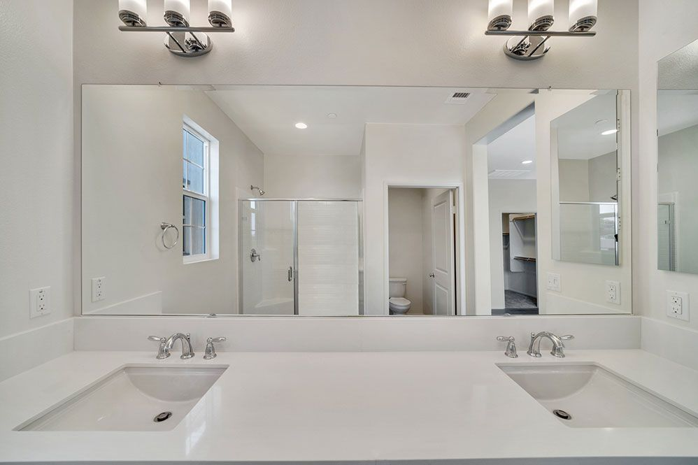 Bathroom featured in the PLAN 1XD SPANISH REVIVAL 1X By D.R. Horton in Los Angeles, CA