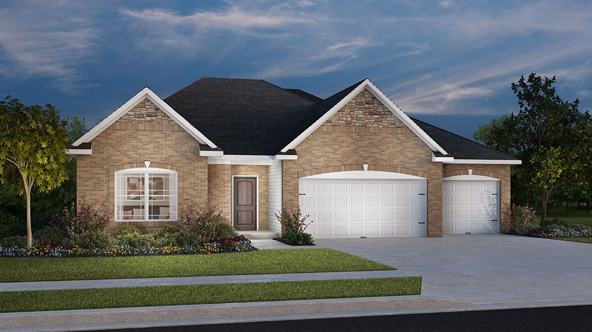 Exterior featured in the Sycamore By D.R. Horton in Indianapolis, IN