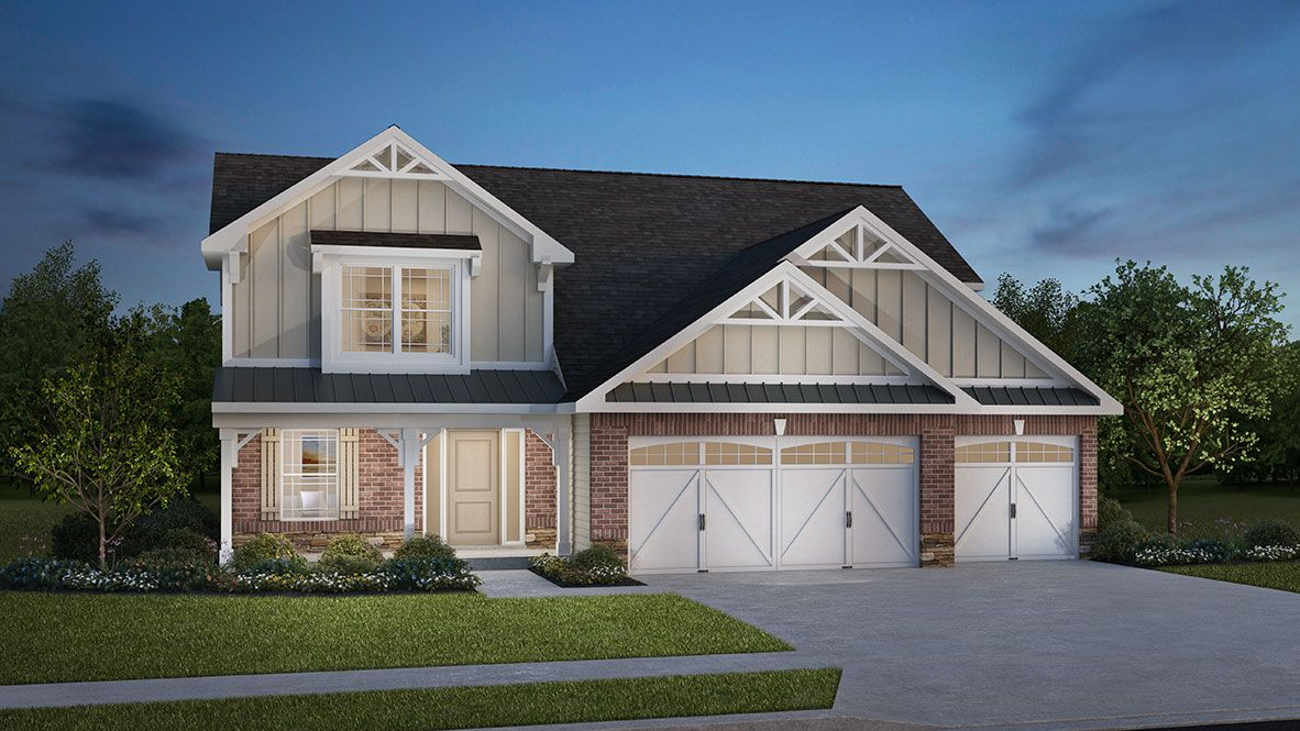 Exterior featured in the McKinley By D.R. Horton in Indianapolis, IN