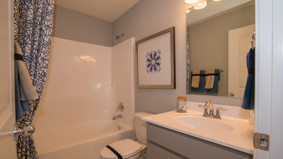 Bathroom featured in the McKinley By D.R. Horton in Indianapolis, IN