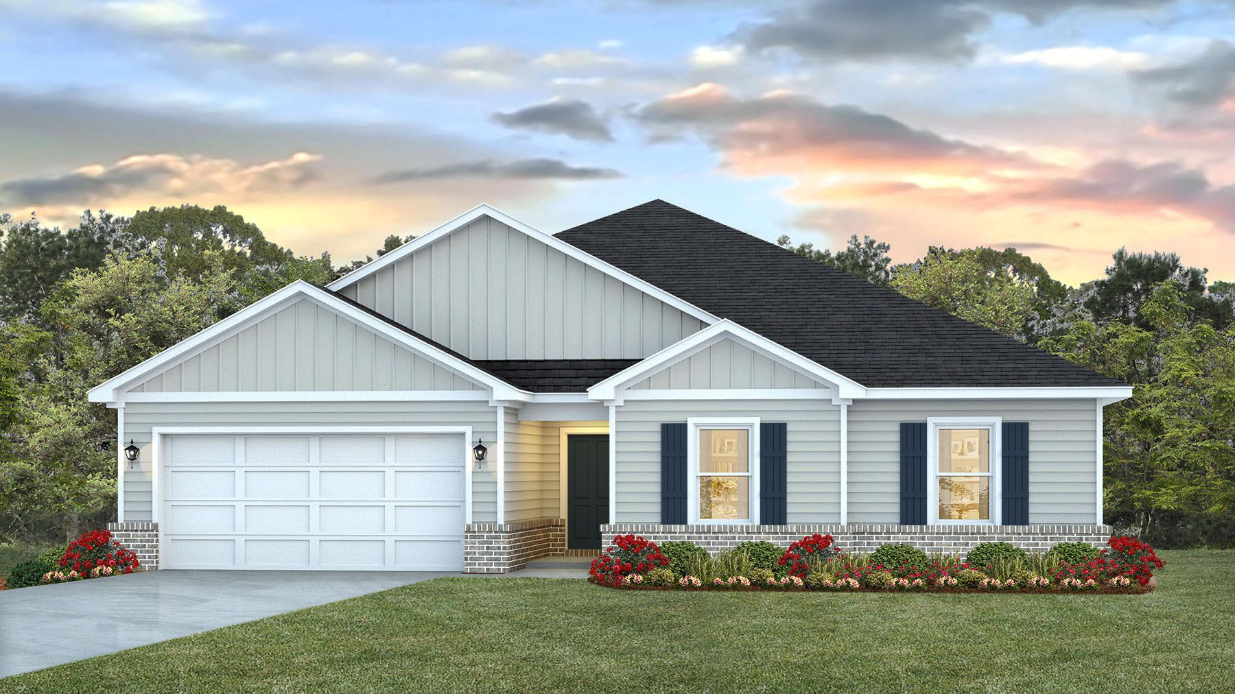 Exterior featured in The Cairn By D.R. Horton in Biloxi, MS