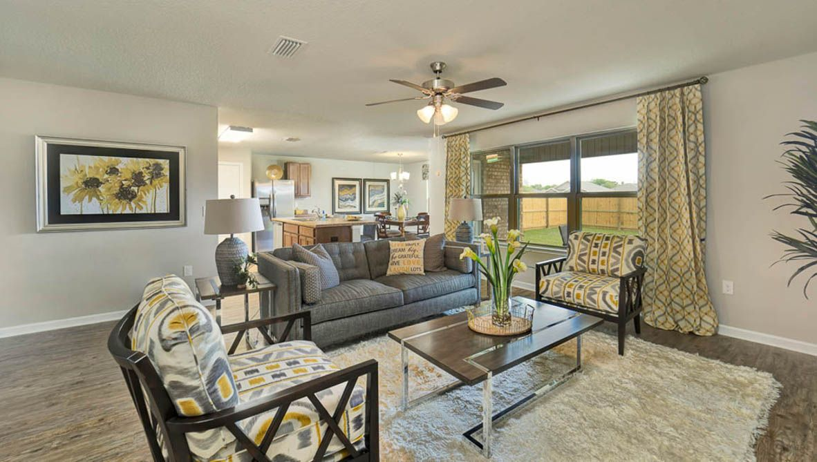 Living Area featured in The Cairn By D.R. Horton in Biloxi, MS