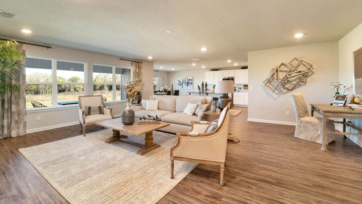 Living Area featured in The Denton By D.R. Horton in Biloxi, MS