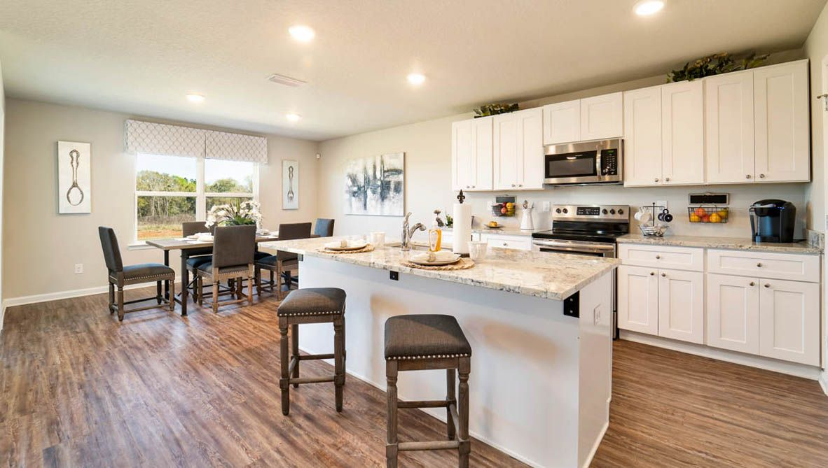 Kitchen featured in The Denton By D.R. Horton in Biloxi, MS