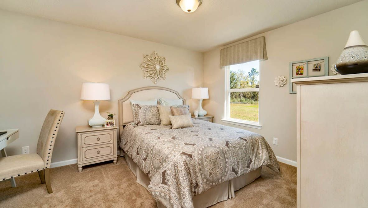 Bedroom featured in The Denton By D.R. Horton in Biloxi, MS