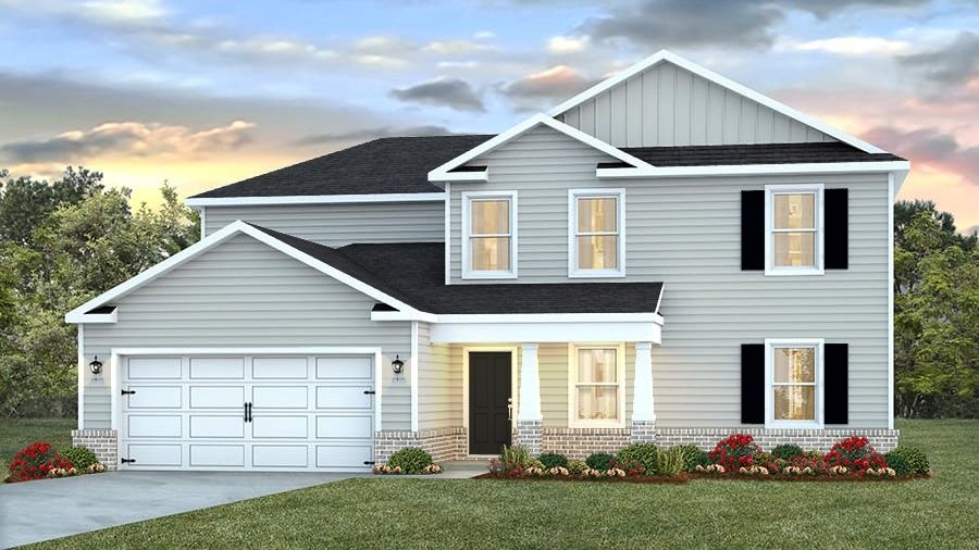 Exterior featured in The Fairview By D.R. Horton in Biloxi, MS