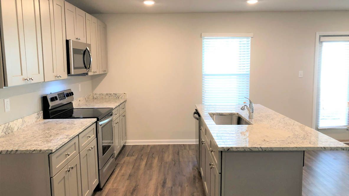 Kitchen featured in The Fairview By D.R. Horton in Biloxi, MS