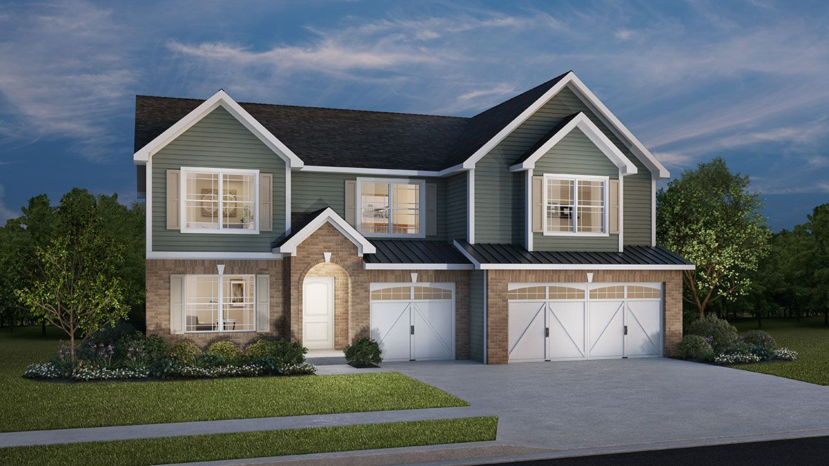 Exterior featured in the Campton By D.R. Horton in Indianapolis, IN