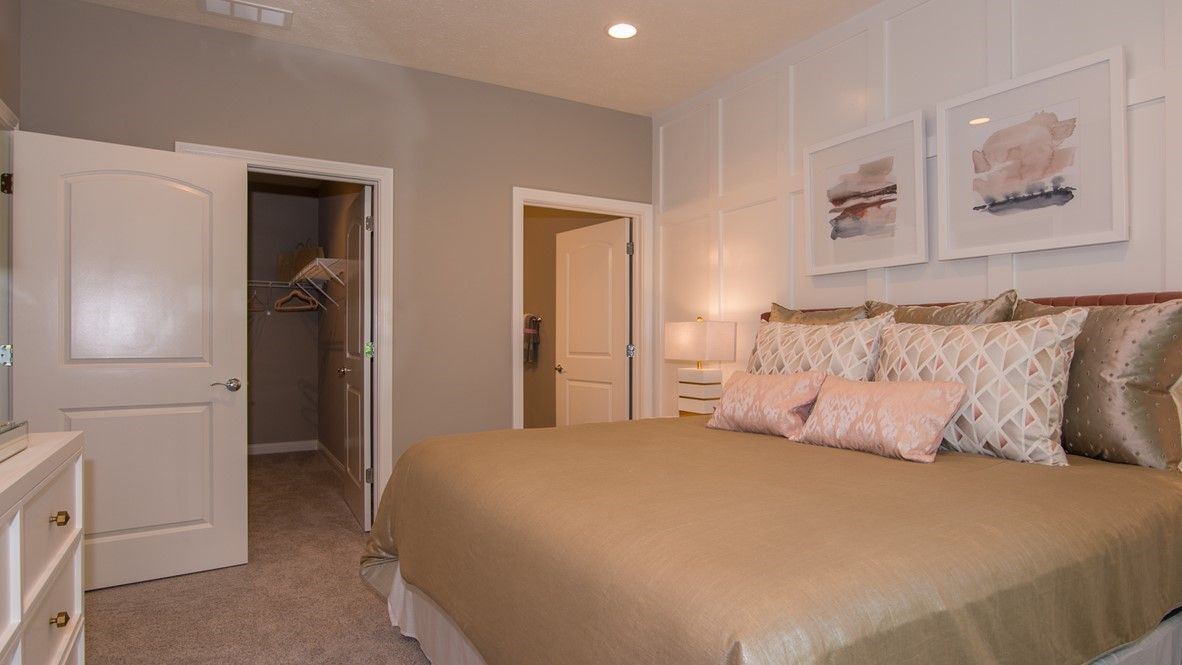 Bedroom featured in the Bayhill By D.R. Horton in Indianapolis, IN