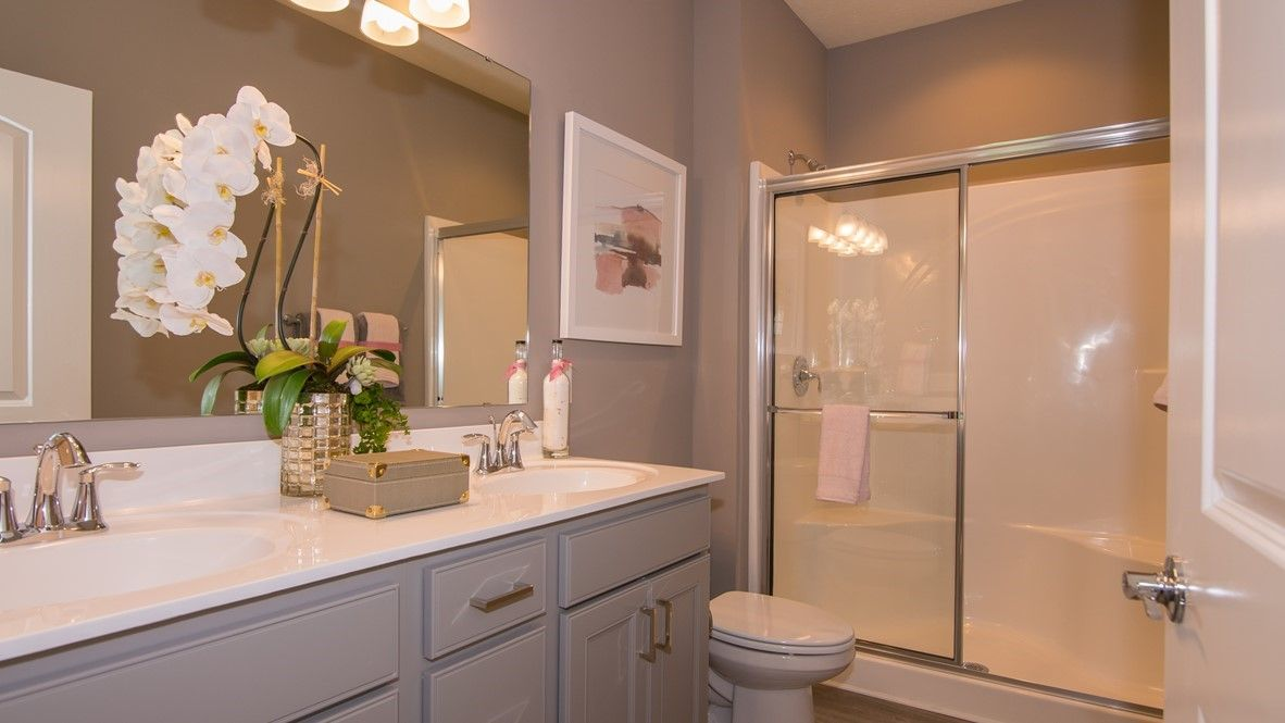 Bathroom featured in the Bayhill By D.R. Horton in Indianapolis, IN