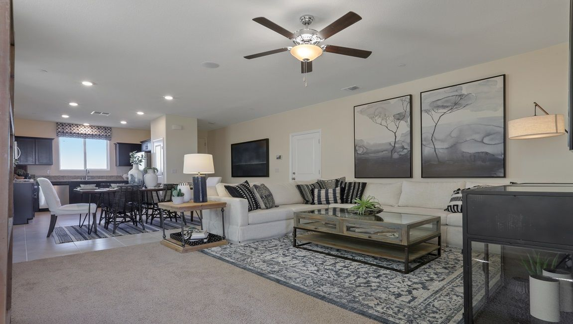 Living Area featured in the Tenaya By D.R. Horton in Merced, CA