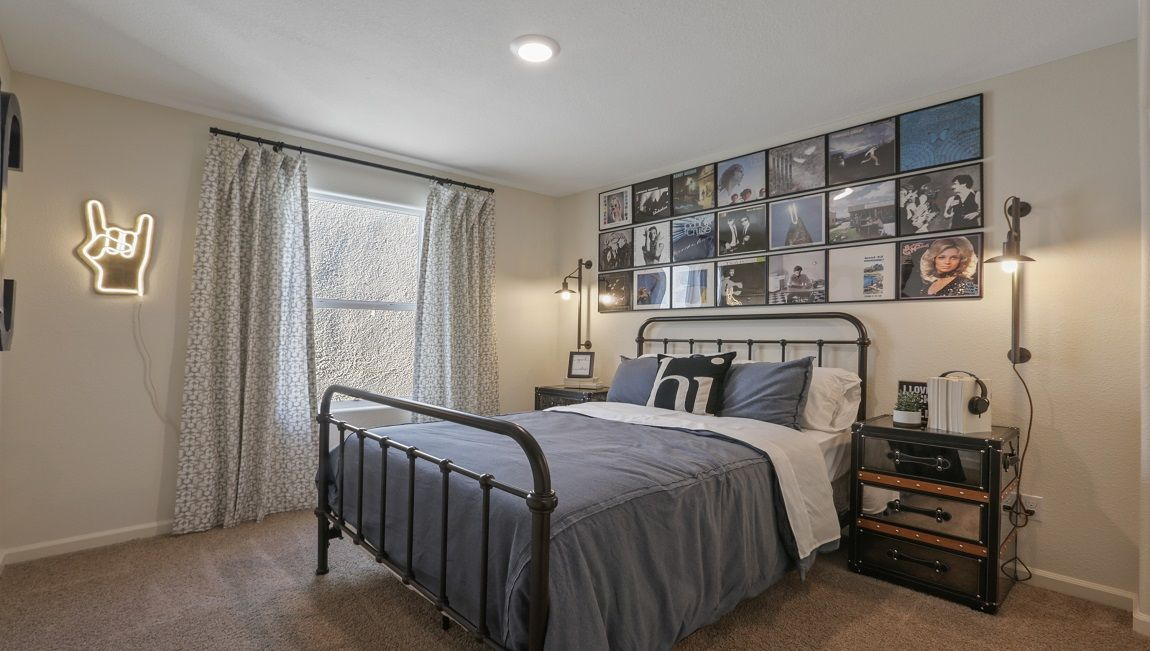 Bedroom featured in the Tenaya By D.R. Horton in Merced, CA