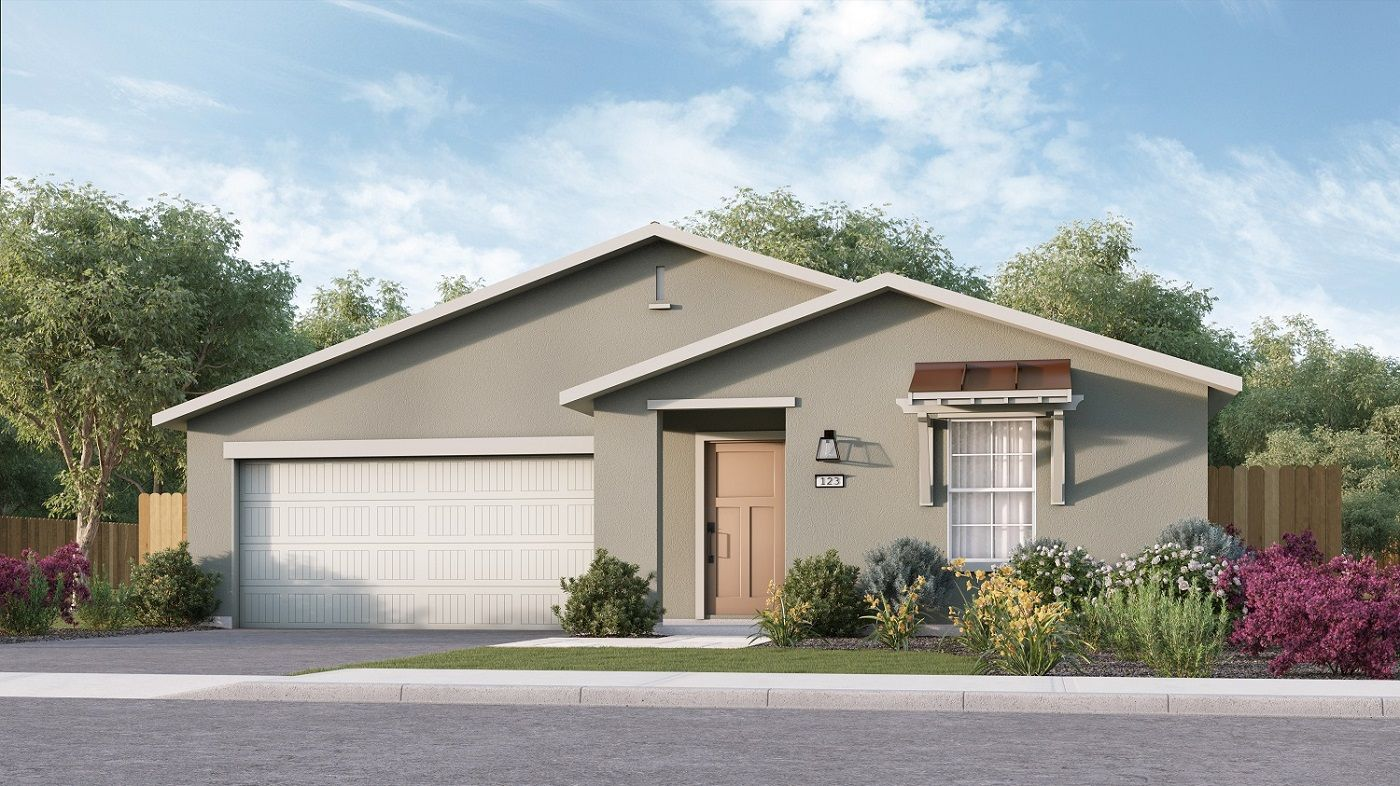 Exterior featured in the Coolidge By D.R. Horton in Bakersfield, CA